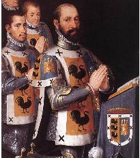 triptiek van de Spaans-Brugse familie van Juan Lopez Gallo en Catherina Pardo